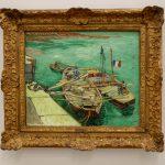 Rhonebarken von Vincent van Gogh