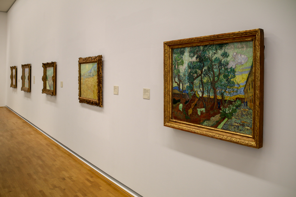 Im Museum Folkwang in Essen sind gleich vier Gemälde von Vincent van Gogh zu sehen.