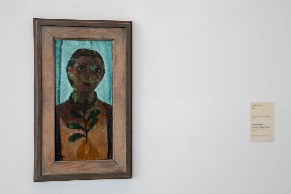 "Paula Modersohn-Becker ""Selbstbildnis mit Kamelienzweig"""