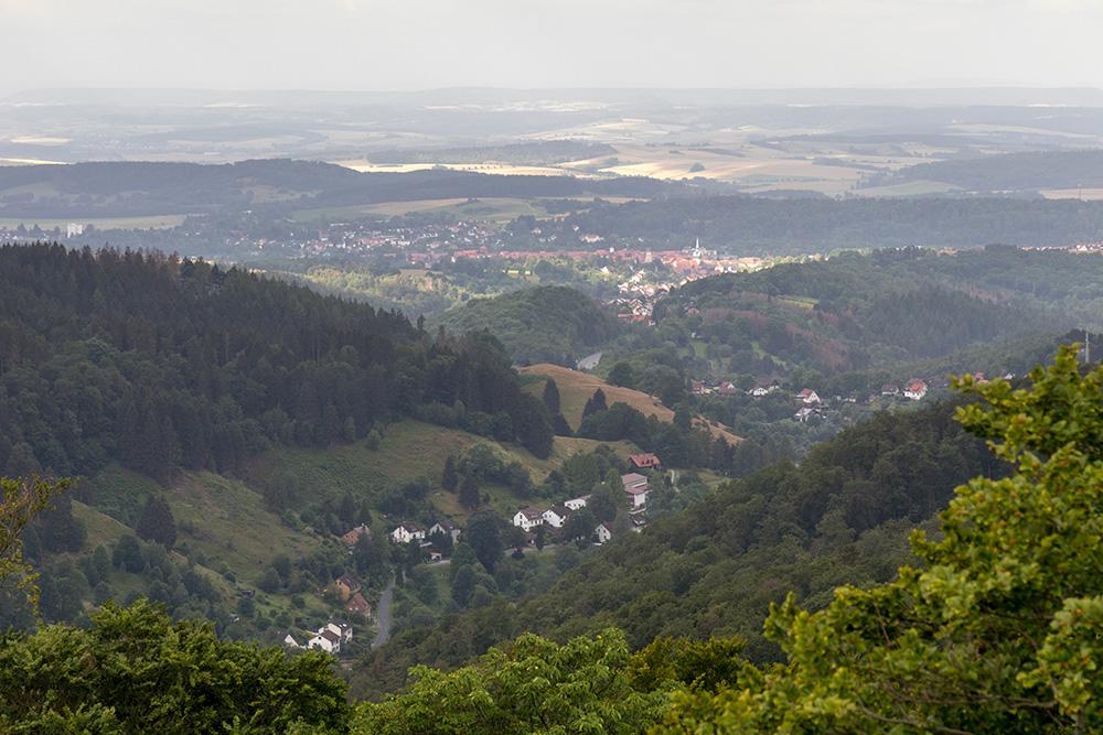 Aussichtsturm Kuckholzklippe im Harz