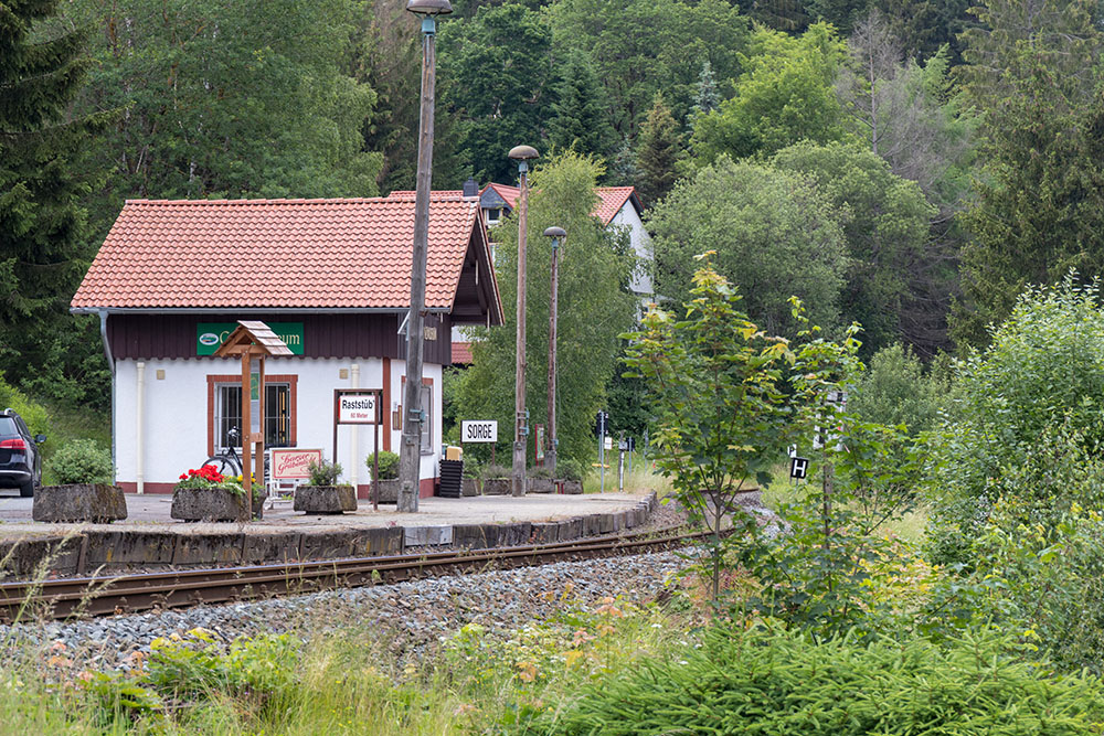 Bahnhof Sorge im Harz