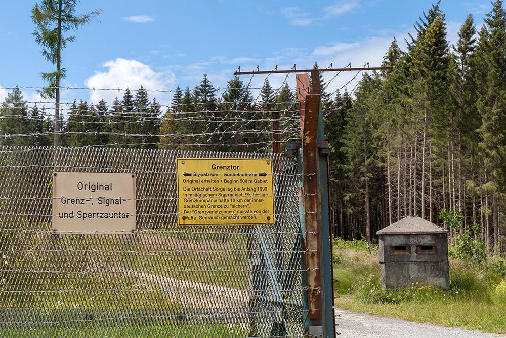 Grenzlandschaft Sorge im Harz DDR