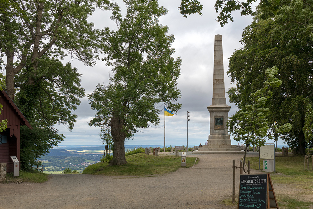 Aussicht vom Burgberg in Bad Harzburg