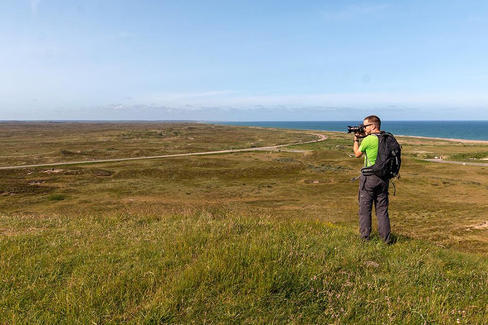 Fast grenzenlos wirkt der Nationalpark Thy. Fotomotive findet man hier an jeder Ecke.
