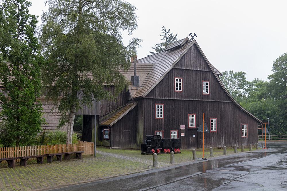 Die Grube Samson in Sankt Andreasberg im Harz