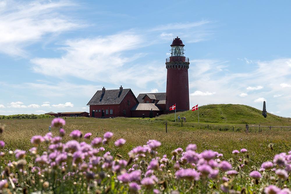 Der Leuchtturm Bovbjerg Fyr