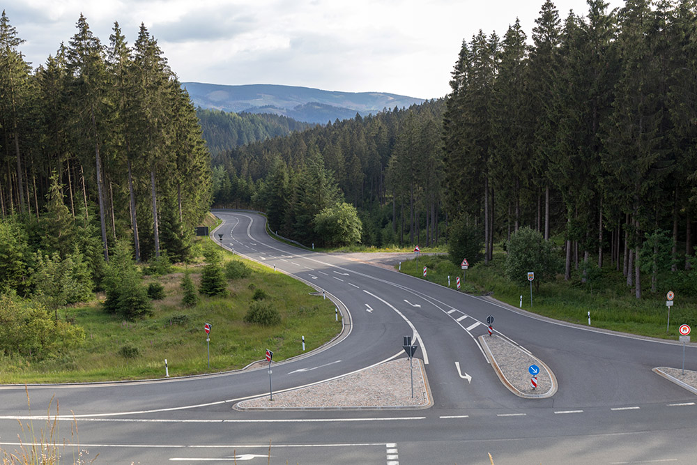 Straßen im Harz