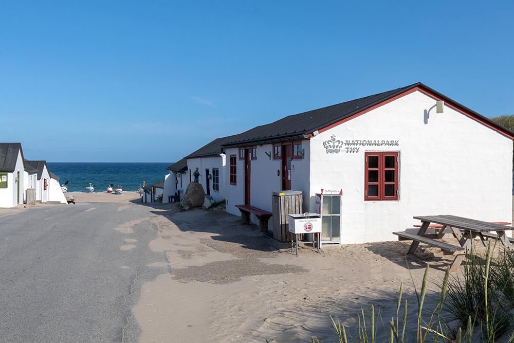 Stenbjerg Landingsplads - Das sind alte Häuser der Fischer im Nationalpark Thy