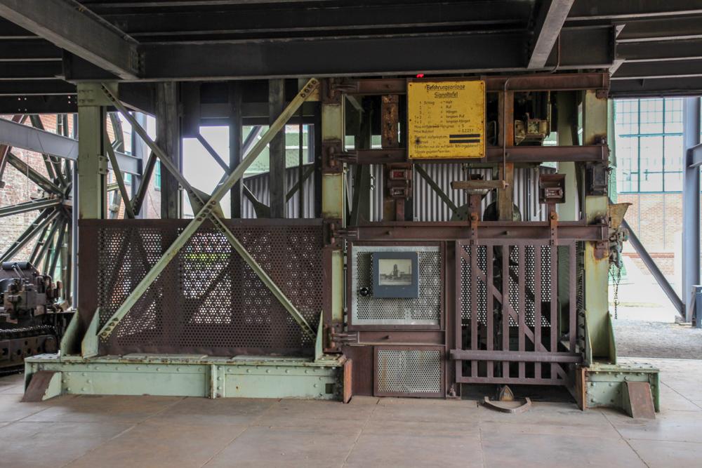 Schachtanlage der Zeche Zollern in Dortmund