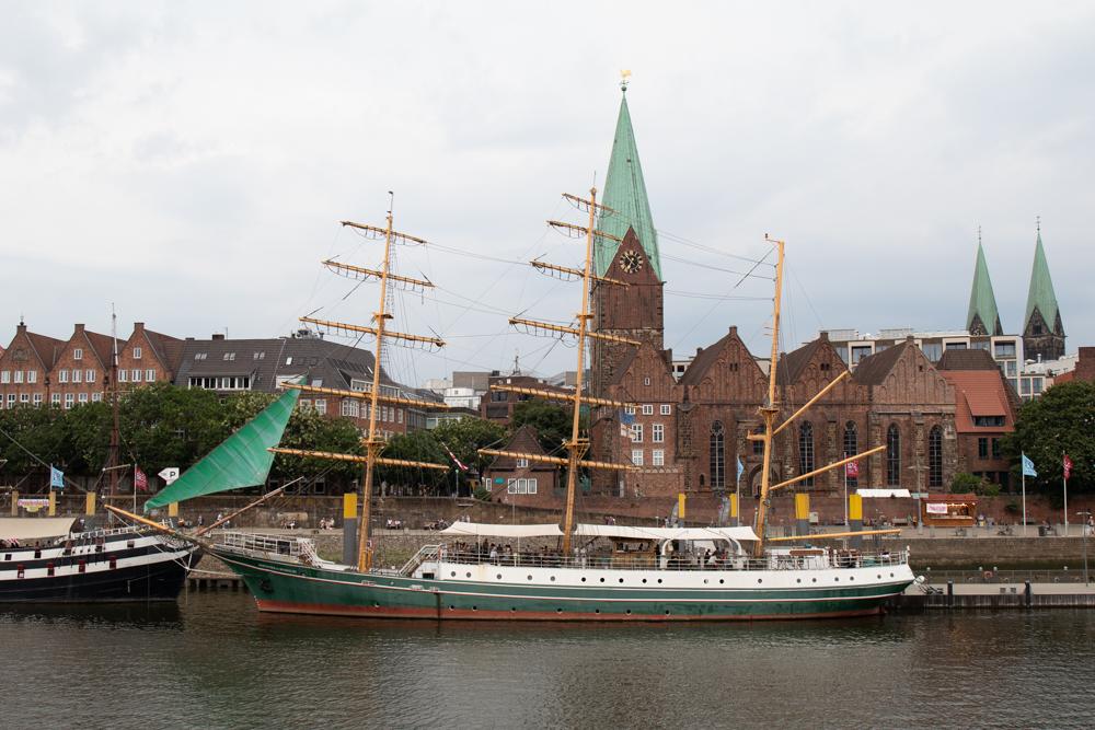 Segelschiff aus der Beck's Werbung