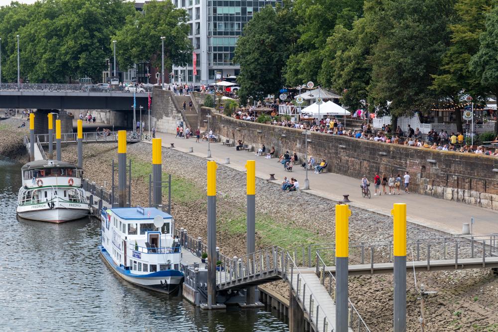 Weserpromenade Schlachte in Bremen