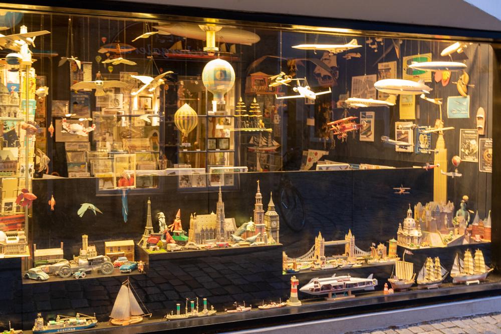 Schaufenster Weihnachtsladen Schnoorviertel Bremen