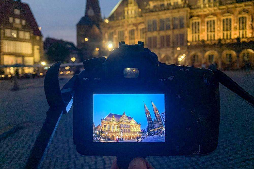 Nachtfotografie Bremen