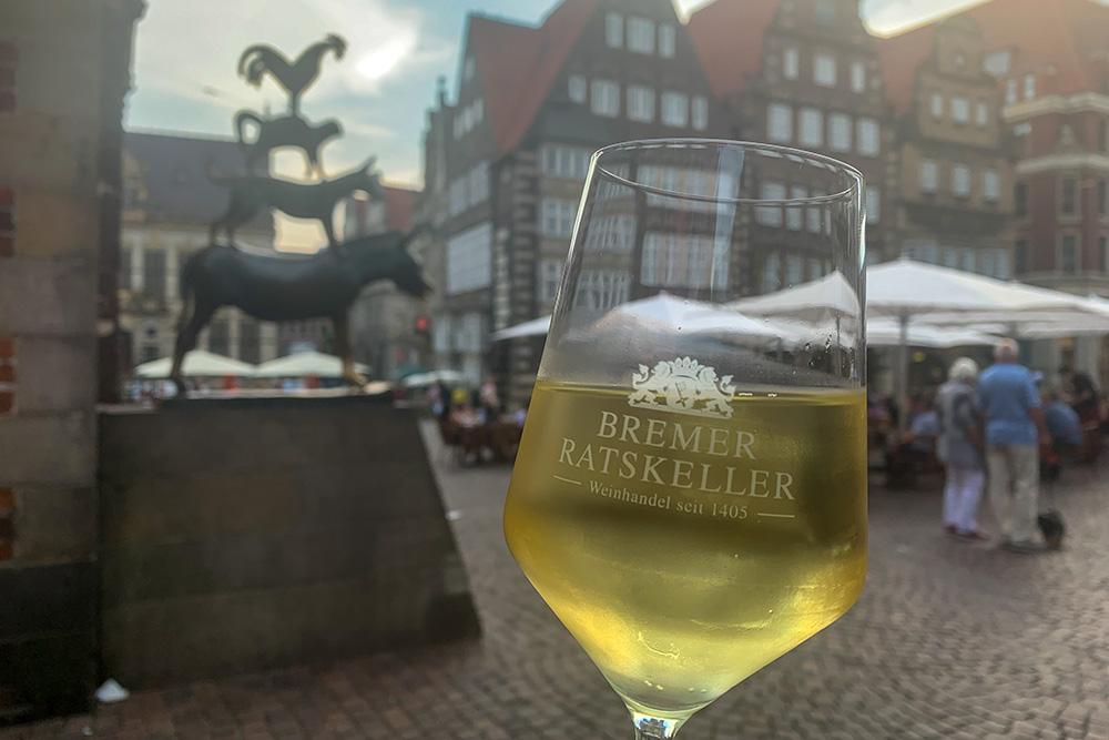 Wein im Ratskeller Bremen