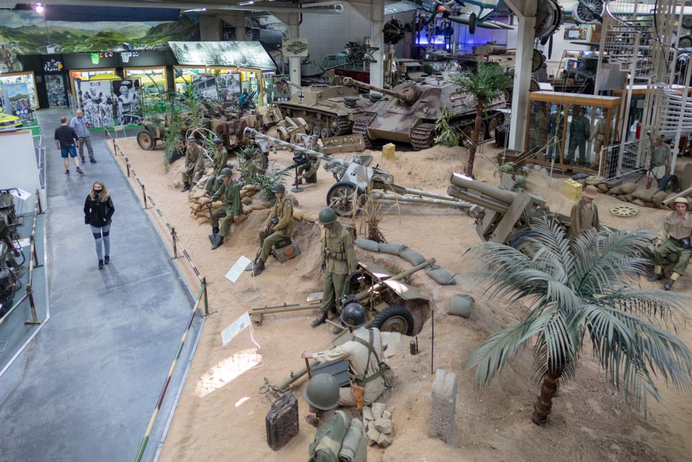 Militärausstellung im Technik Museum Sinsheim