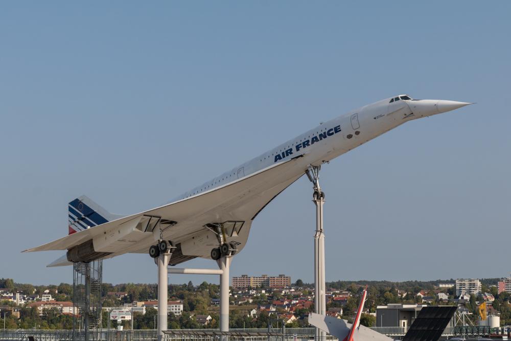 Concorde der Air France im Technik Museum Sinsheim
