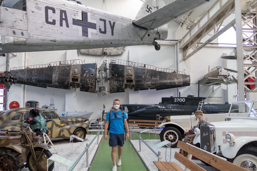 Besucher im Technik Museum Speyer