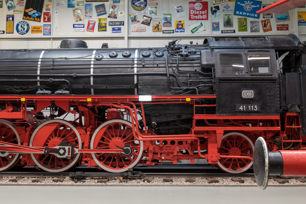 Dampflok im Technik Museum Sinsheim