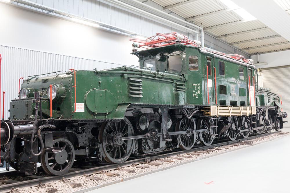 Eisenbahn Krokodil im Technik Museum Sinsheim