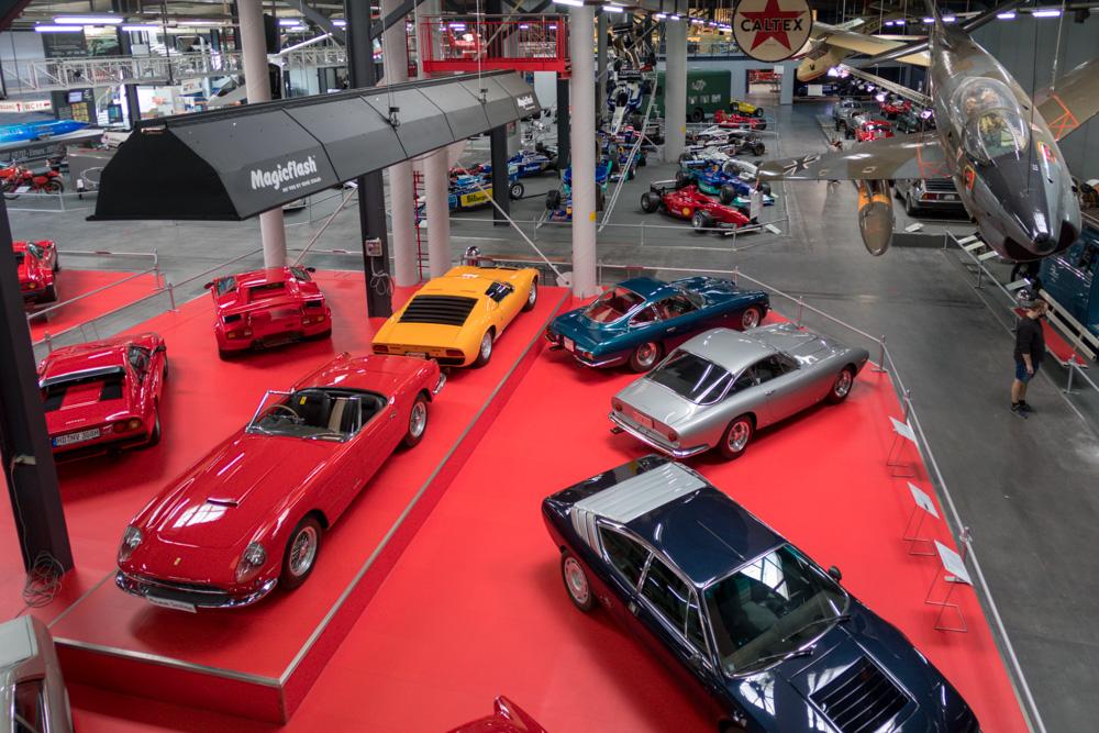 Sportwagen im Technik Museum Sinsheim