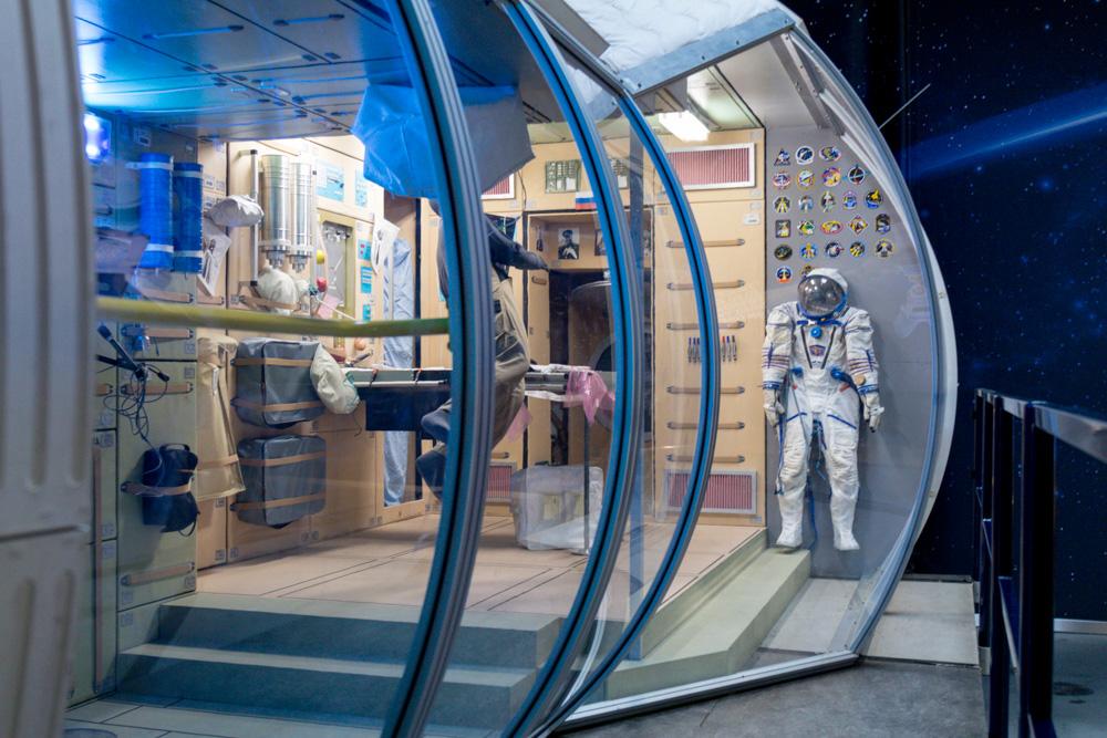 Raumfahrt Ausstellung im Technik Museum Speyer