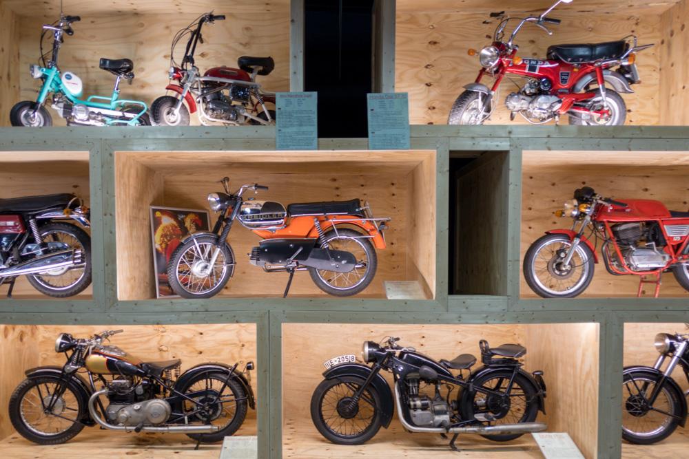Motorräder im Technik Museum Sinsheim