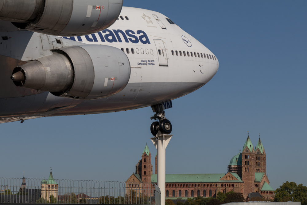 Technik Museum Speyer Lufthansa Jumbo B747