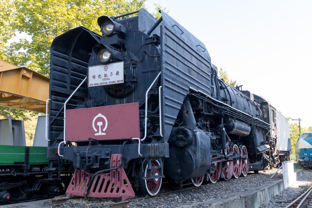 Chinesische Dampflok im Technik Museum Speyer