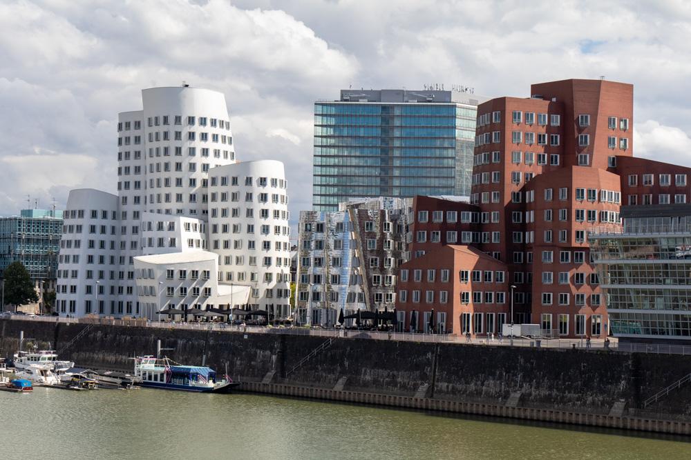 Medienhafen Düsseldorf Gehry-Bauten