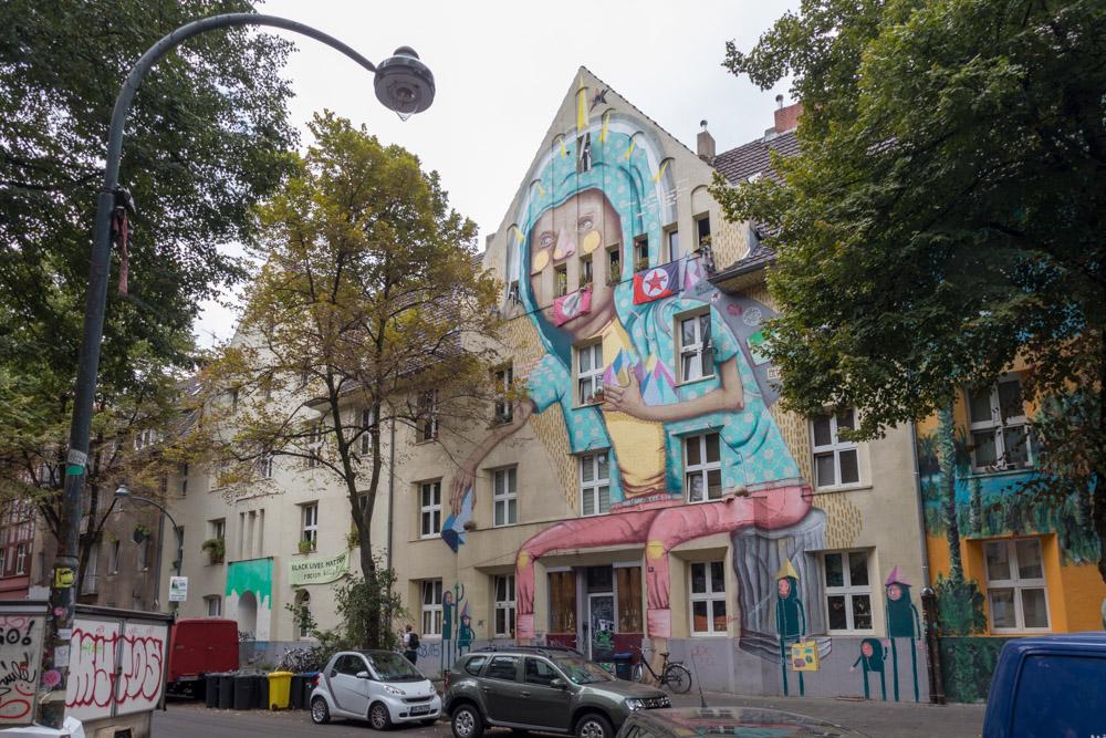 Streetart Kiefernstraße Düsseldorf