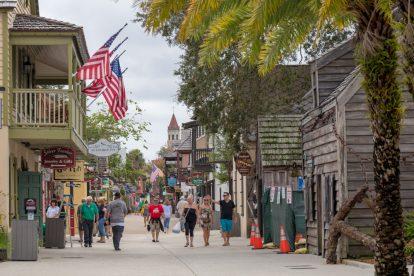 St. George Street in St. Augustine