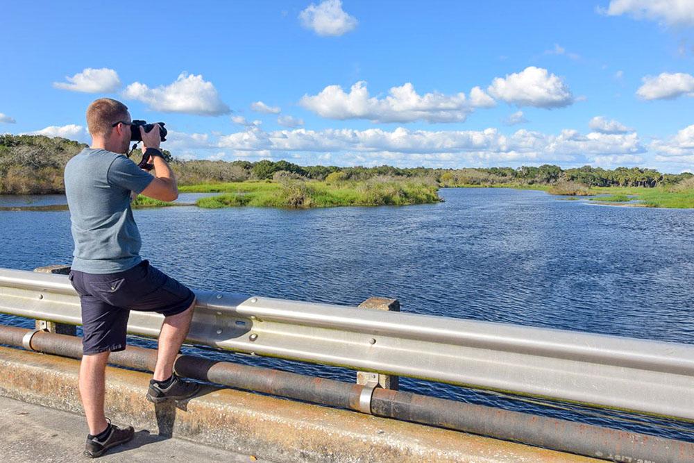 Fotografieren im Myakka River State Park Florida
