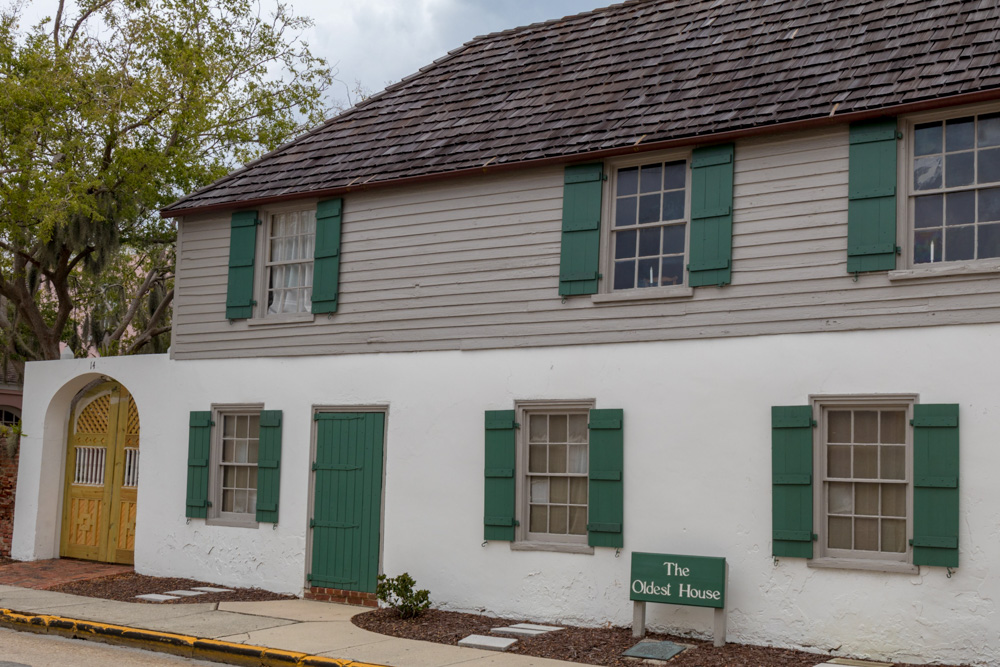 Das älteste Haus in St. Augustine
