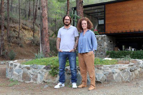 Lefteris Mohianakis hat mit seiner Frau Kristina Apostolou das Anama Concept geschaffen.