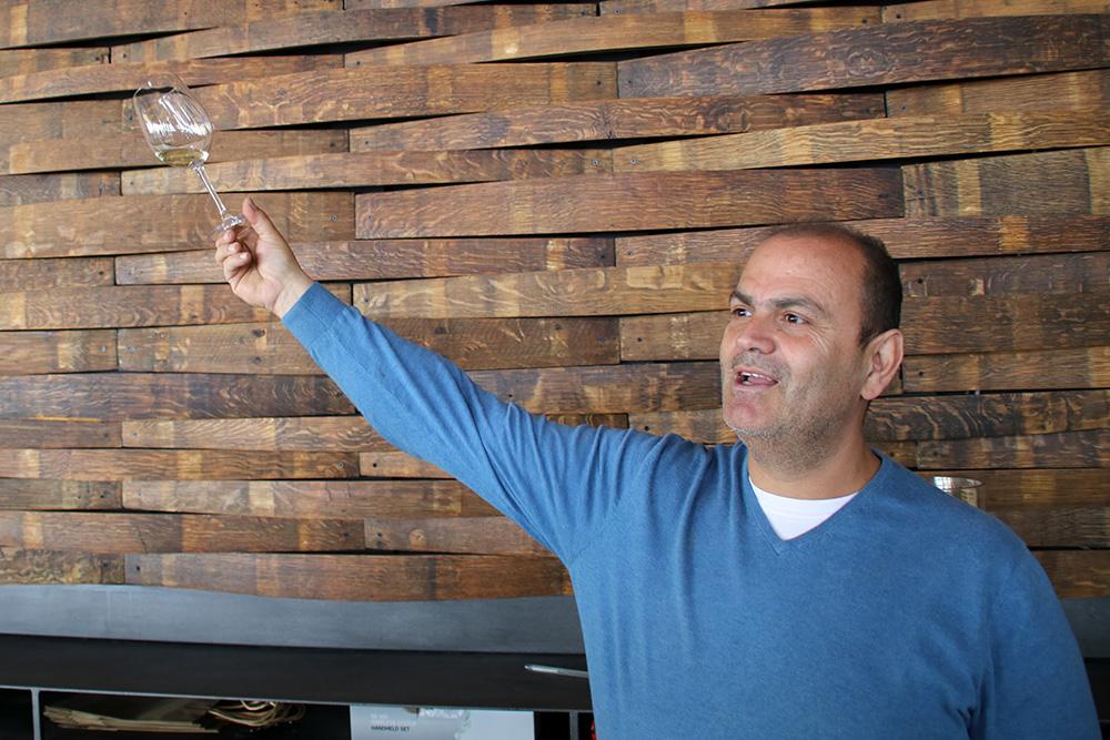 Savvas Fakoukakis eröffnete die Dafermou Winery.