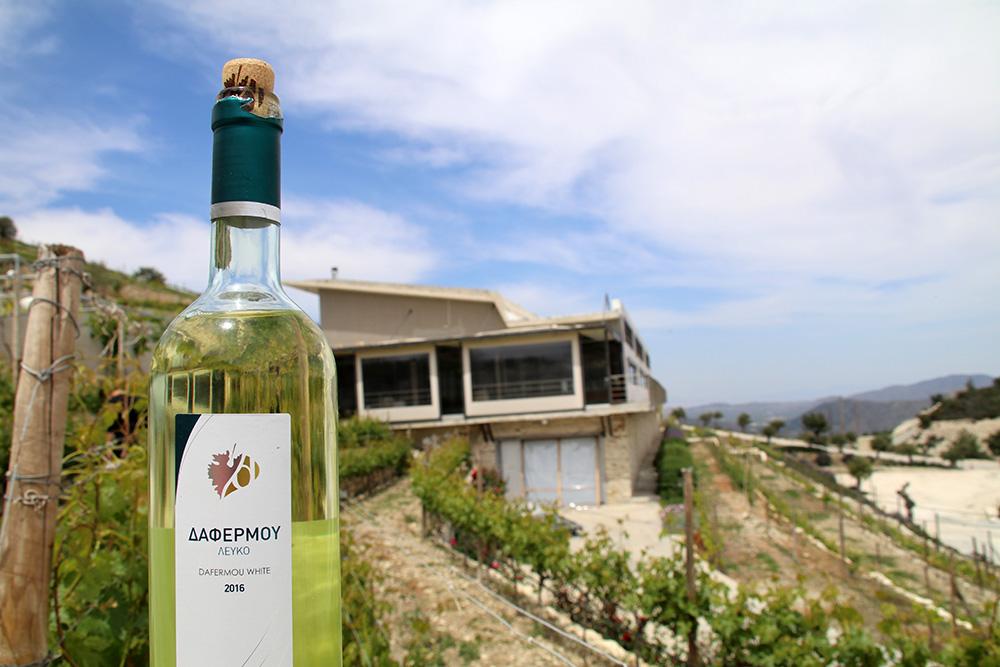In den Hügeln des Lefkara-Tales liegt die Dafermou Winery.