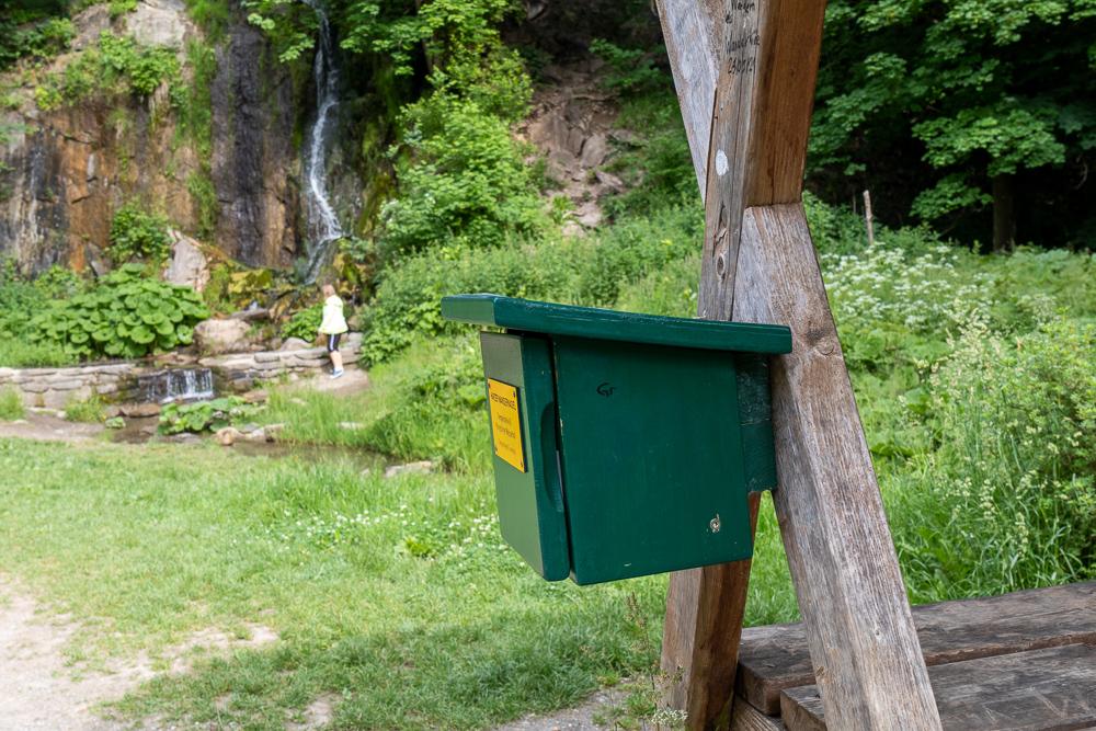 Königshütter Wasserfall – Harzer Wandernadel Stempelstelle HWN 40