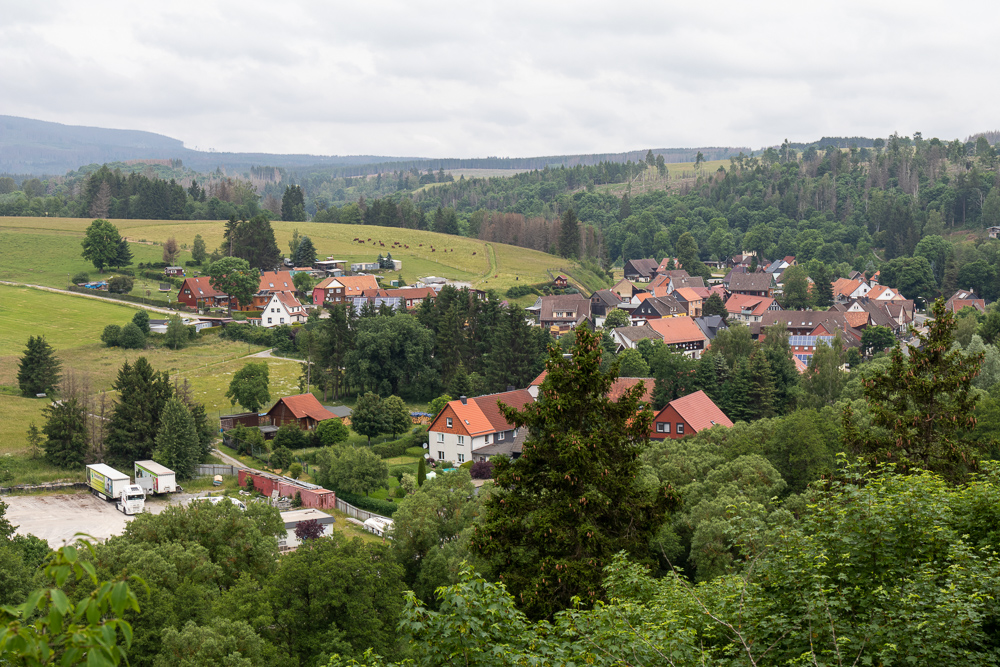 Ruine Königsburg – Harzer Wandernadel Stempelstelle HWN 41
