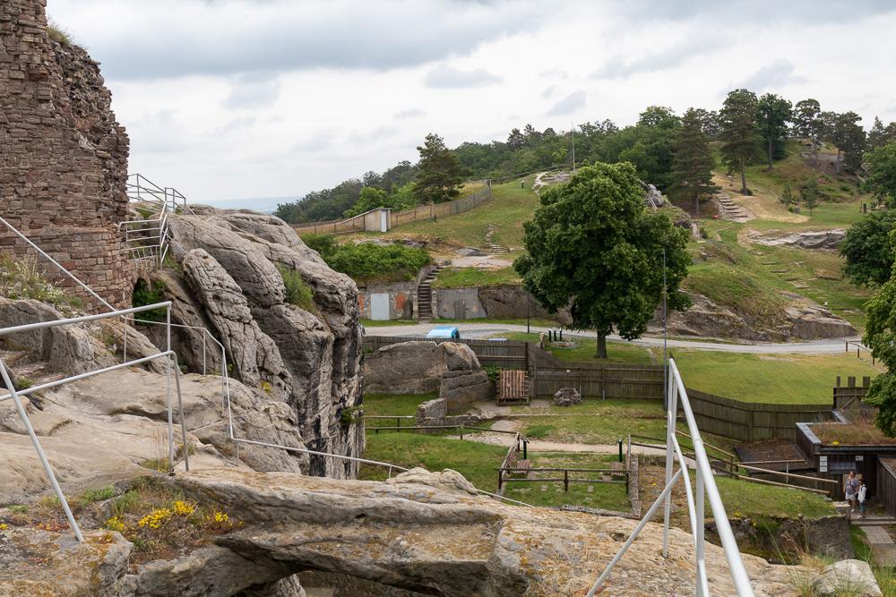 Burgruine Regenstein – Harzer Wandernadel Stempelstelle HWN 80