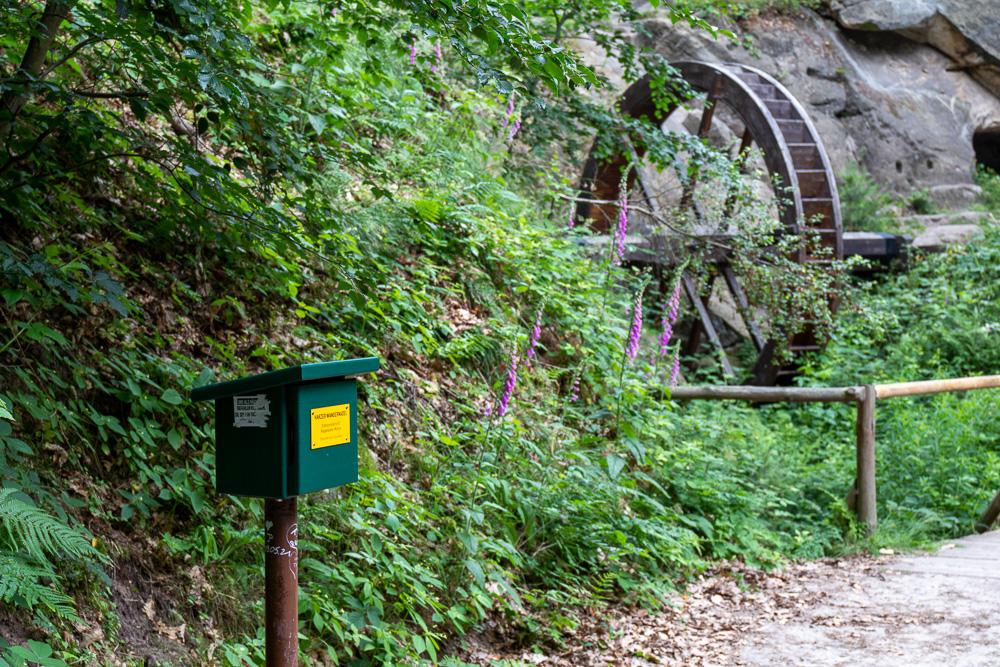 Regensteinmühle – Harzer Wandernadel Stempelstelle HWN 82