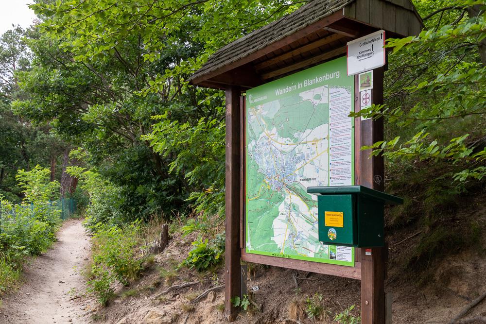 Großvaterfelsen – Harzer Wandernadel Stempelstelle HWN 76