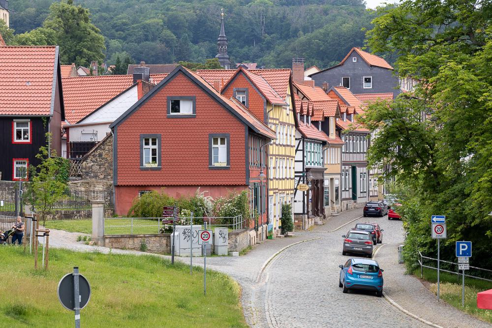 Harzer Wandernadel Sonderstempel Schlösser & Burgen Blankenburg