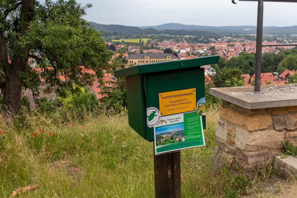Barocke Gärten Blankenburg – Harzer Wandernadel Stempelstelle HWN 78