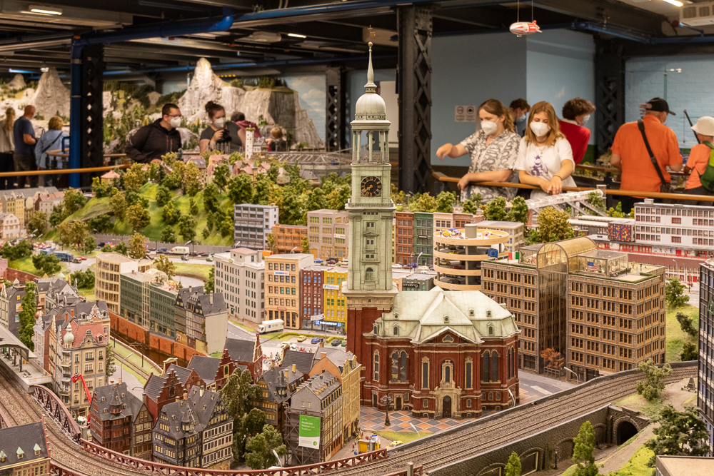 Ein Wochenende in Hamburg mit Besuch im Miniatur Wunderland