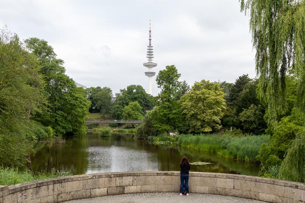 Besuch im Park Planten un Blomen in Hamburg
