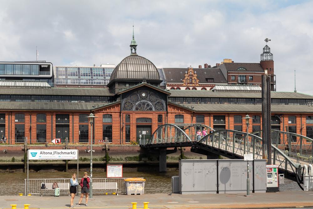 Fischmarkt Altona in Hamburg