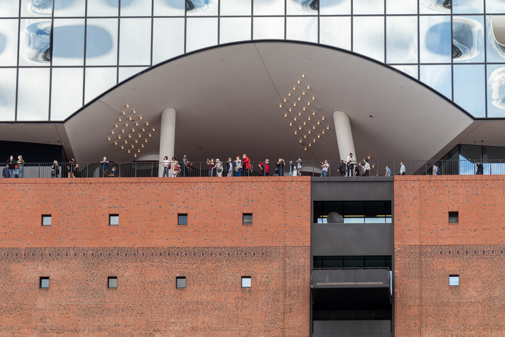 Ein Wochenende in Hamburg. Bei Regen ist es eine Empfehlung die Elbphilharmonie zu besuchen