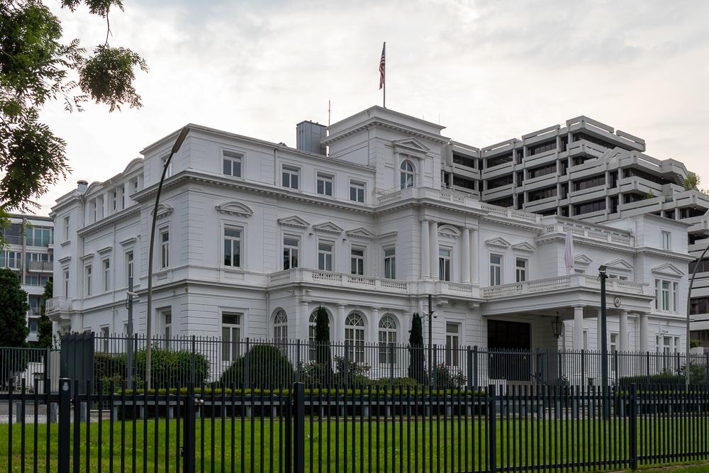 US Konsulat in Hamburg an der Alster