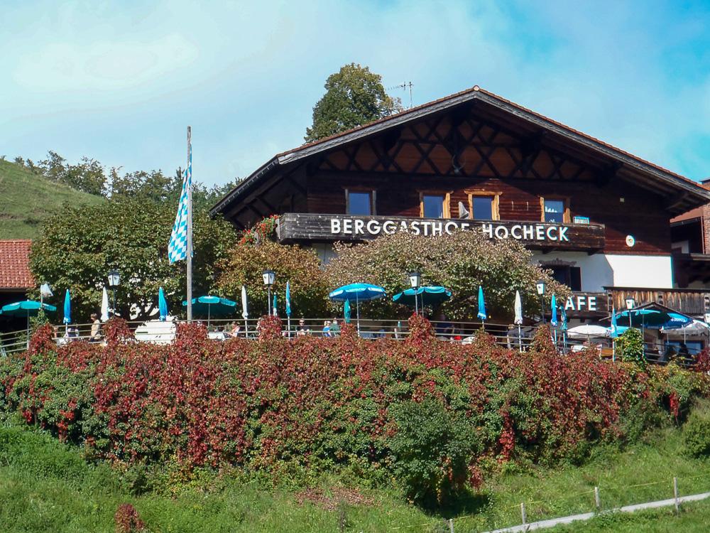 Berggasthof Hocheck in Oberaudorf