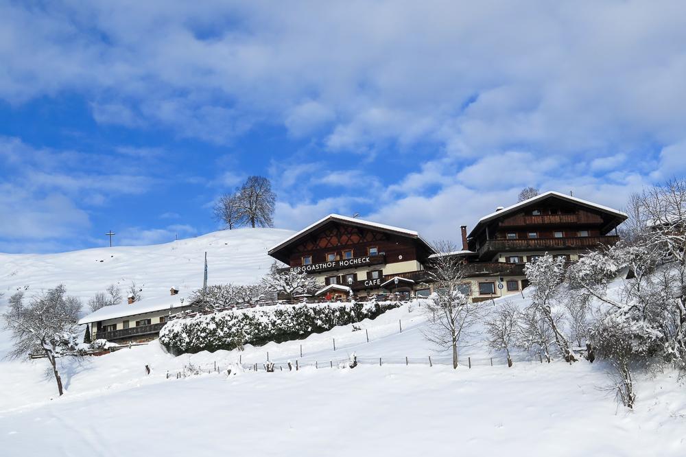 Oberaudorf im Winter